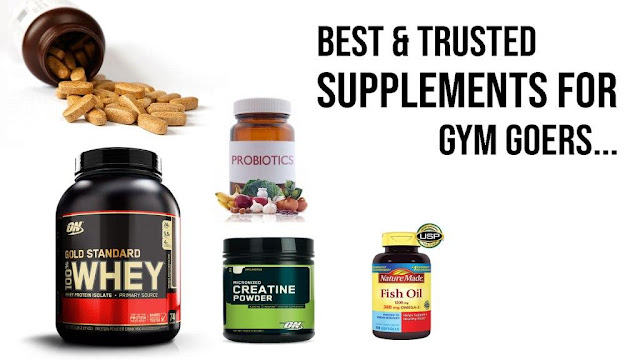 Best and Trusted Muscle Building Supplements for Gym Goers in Hindi