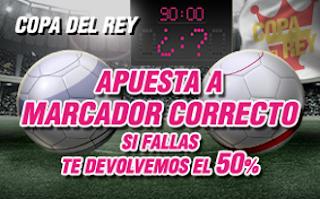 promocion wanabet Real Madrid vs Sevilla copa 4 enero