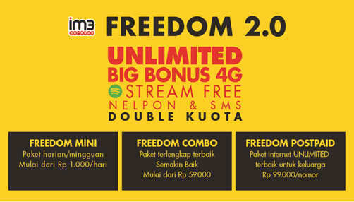 ARTICLE | Pakai Paket Data Freedom Mini, Internetan Jadi Super Irit!
