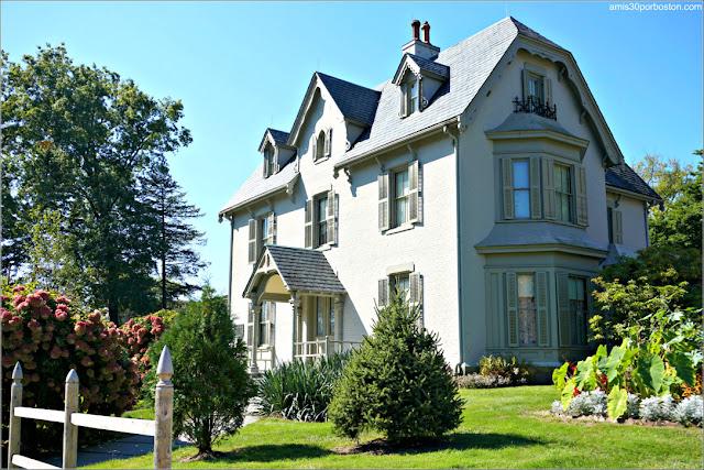 Casa Museo de Harriet Beecher Stowe en Hartford, Connecticut