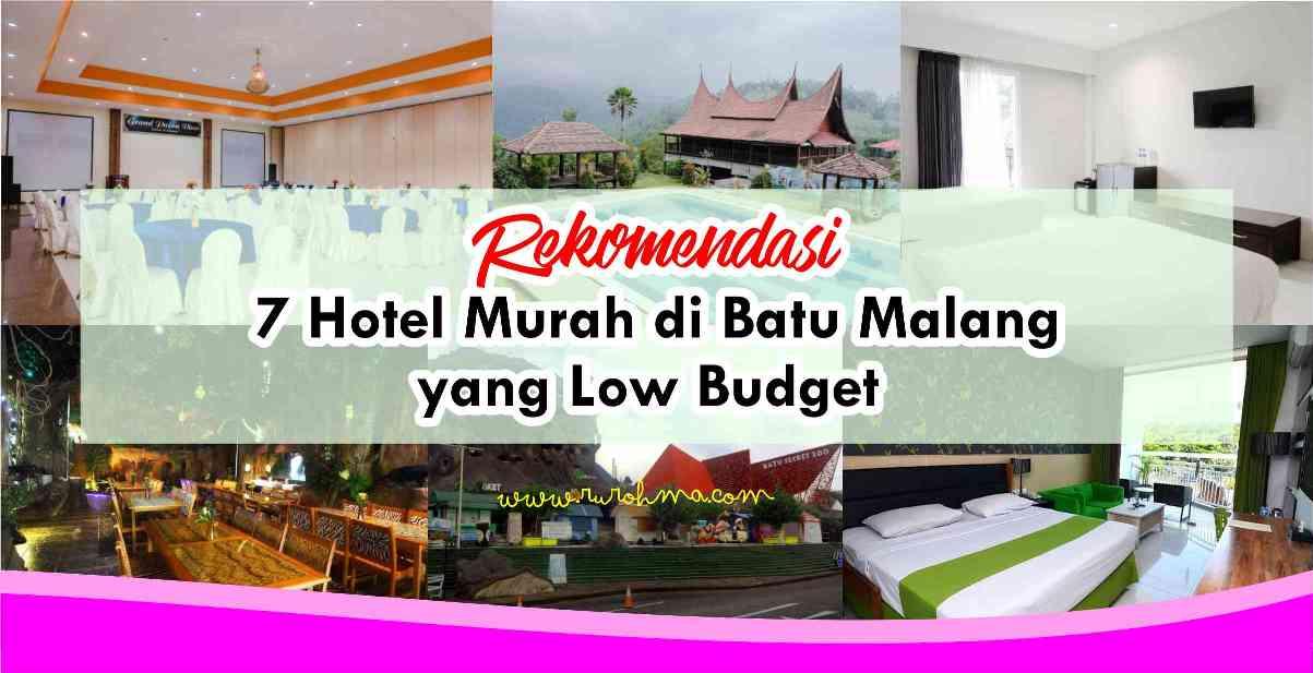 Fastabiqul Khoirots Rekomendasi 7 Hotel Murah Di Batu Malang Yang Low Budget