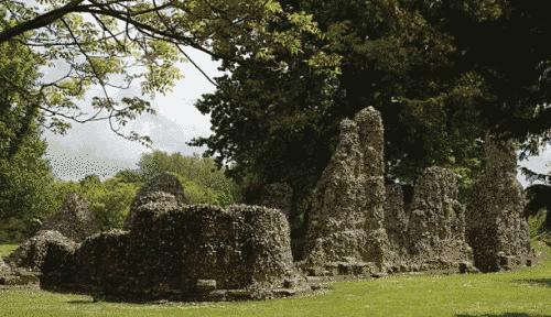 Τα ερείπια της Μονής του Αγίου Edmunds Bury