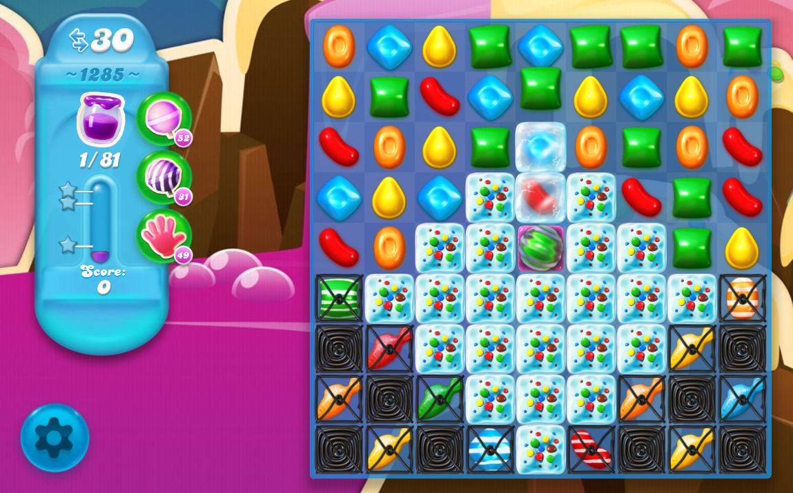 Candy Crush Soda Saga level 1285