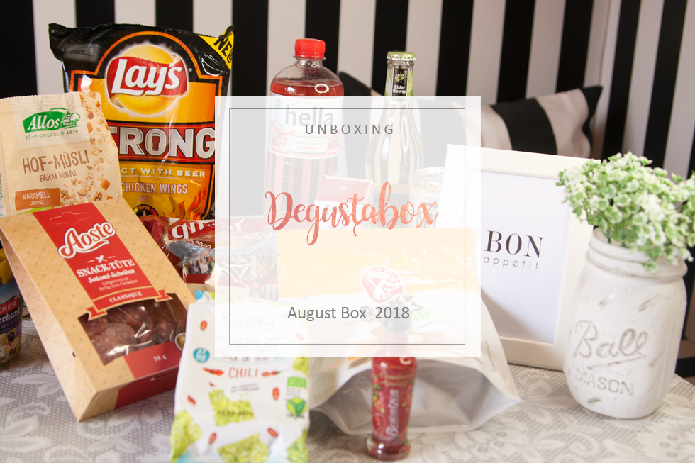Degustabox - August 2018 - unboxing