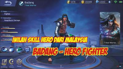 Hero Baru dari Malaysia - hero Fighter Badang