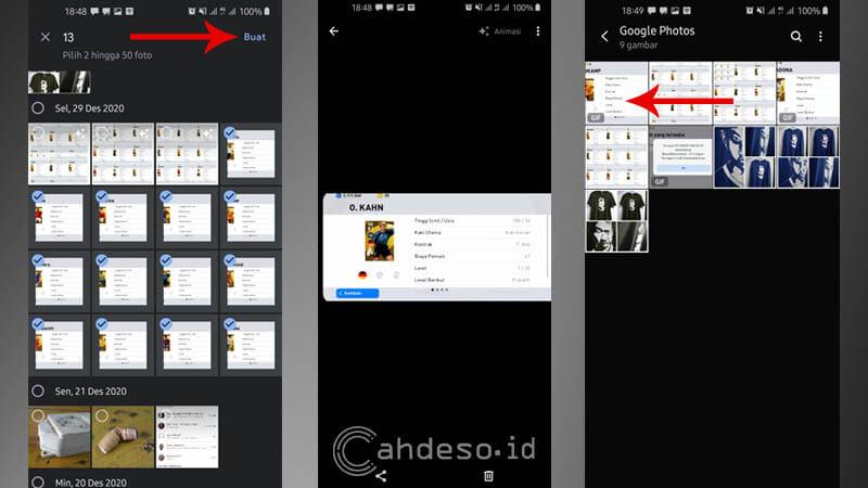 Membuat GIF di HP Android Lewat Google Foto