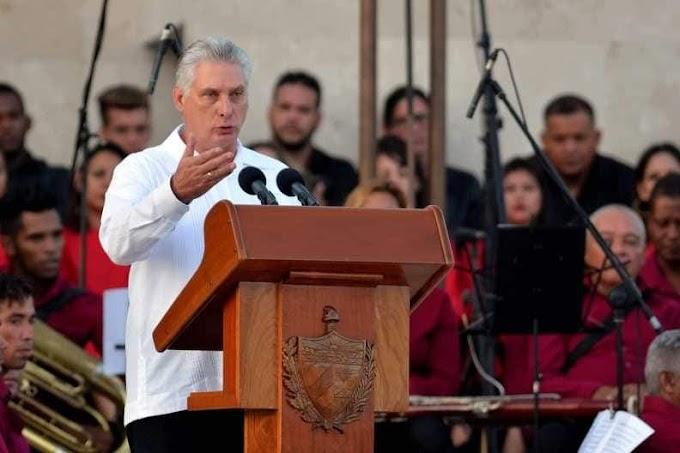 """""""Convertiremos escuelas en cárceles de ser necesario,"""" afirma Díaz-Canel"""