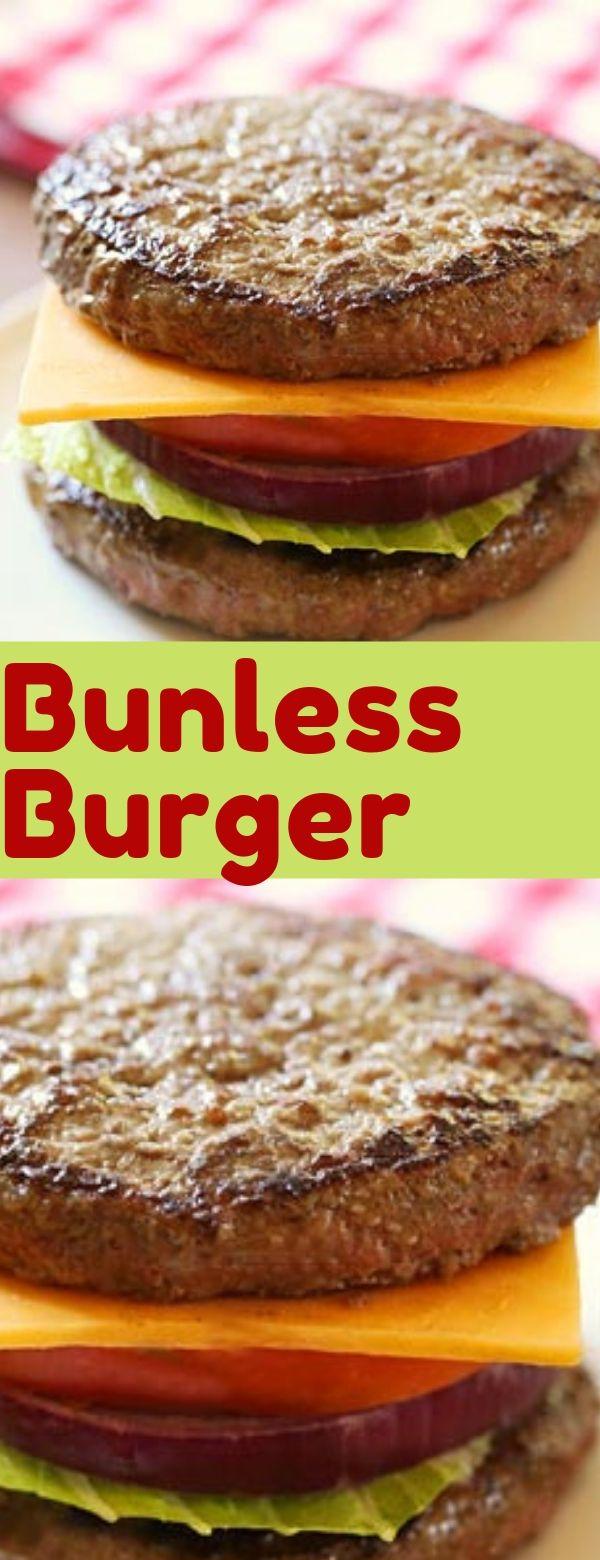 Bunless Burger #burger