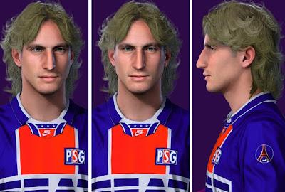 PES 2021 Faces David Ginola by Alireza
