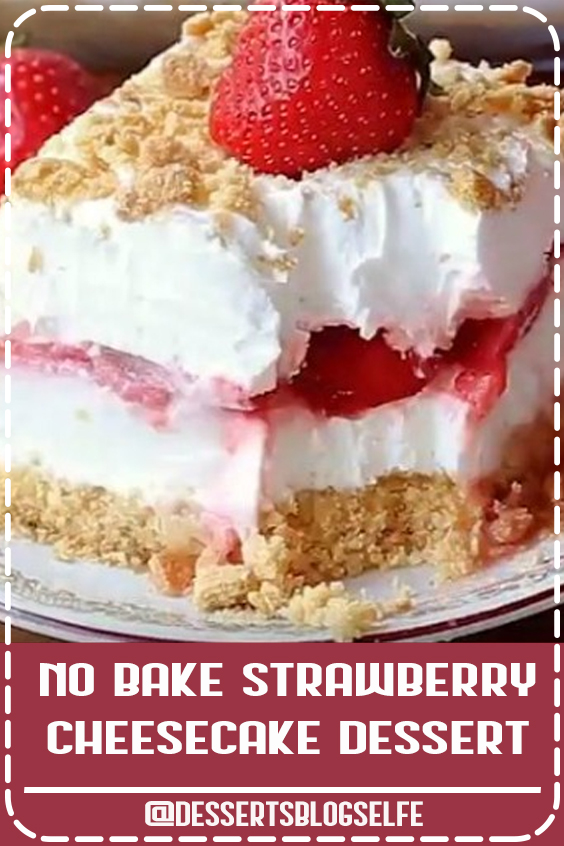 Browse our home and garden articles for fresh ideas on gardening, recipes, DIY projects, and home and garden needs. #DessertsBlogSelfe #Strawberry #Cheesecake #SummerDesserts #recipes