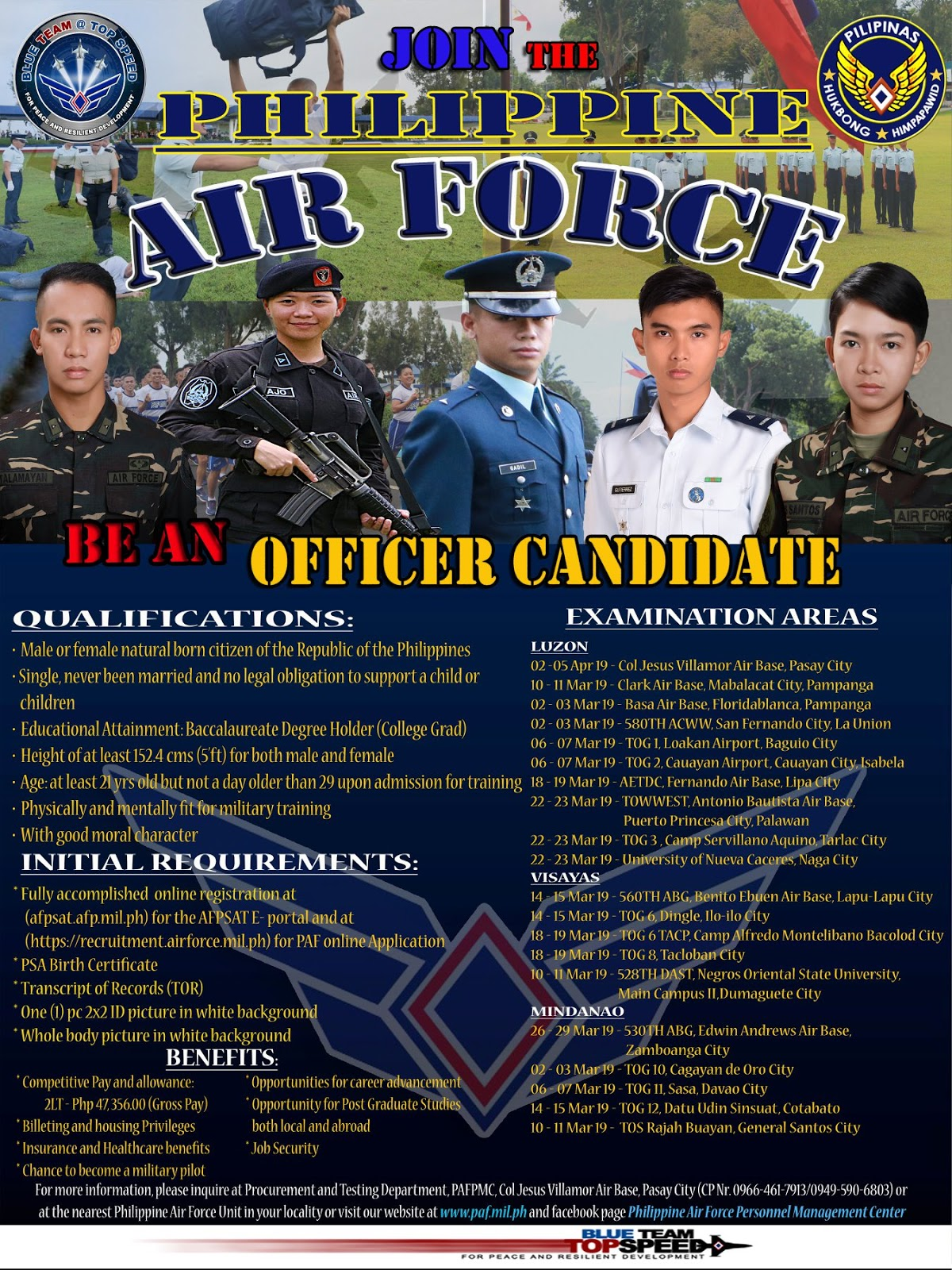 Join the Philippine Air Force - Be an Officer Candidate!