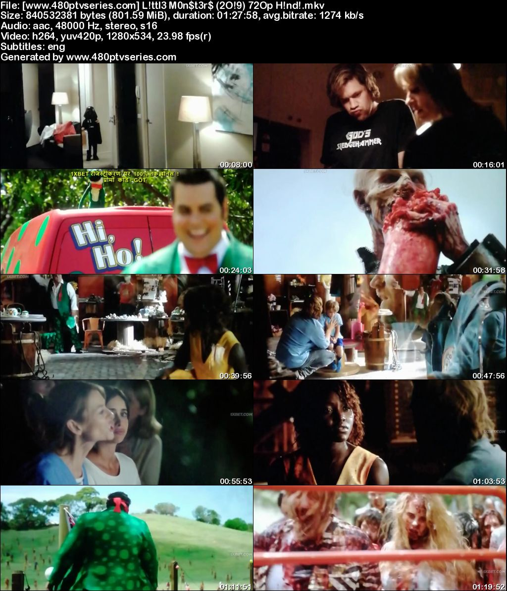 Download Little Monsters (2019) 800MB Full Hindi Dubbed Movie Download 720p HDCAM Free Watch Online Full Movie Download Worldfree4u 9xmovies