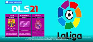 تنزيل لعبه دريم ليج سوكر 2021 بمود الدوري الاسباني مع تشكيله فريق ريال مدريد