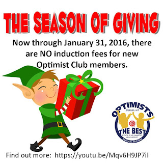 season of giving optimist international