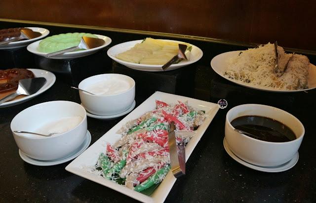 Menu Dessert ayce di Hanamasa