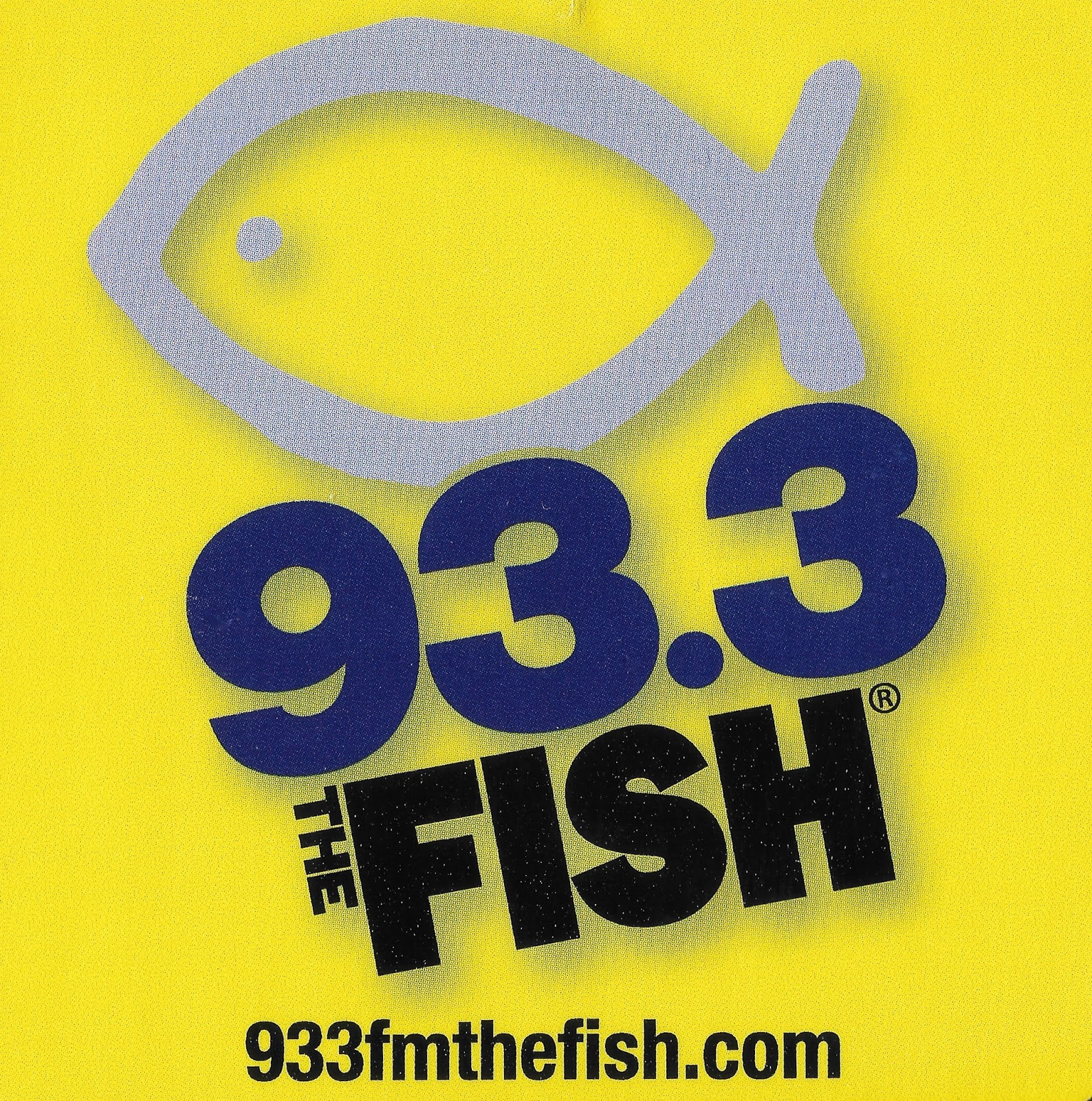 Radio sticker of the day fishes for The fish christian radio