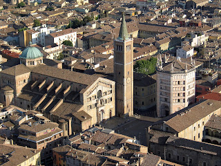 Parma's cathedral and octagonal baptistery