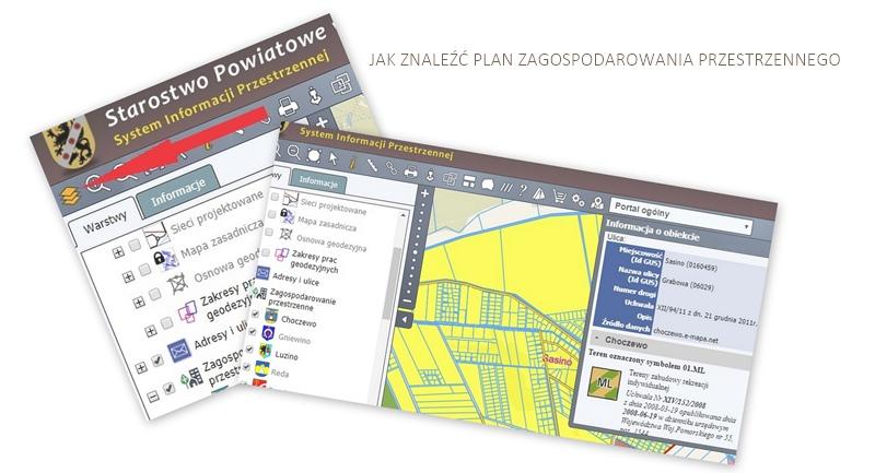 gdzie plan zagospodarowania przestrzennego?