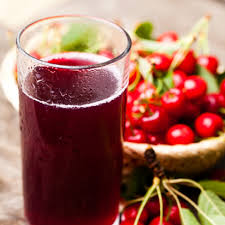 Drinking pungent cherry juice helps improve endurance and exercise performance