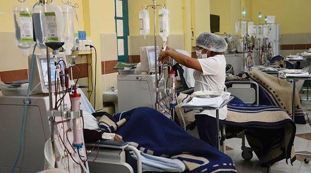 Centros clínicos con pacientes en hemodiálisis