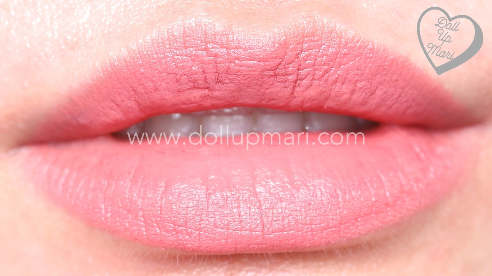 lip swatch of Silkygirl OMG! Powder Matte Lipcolor Lipstick (01-Blossom)