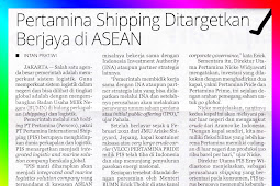 Pertamina Shipping is Targeted to Succeed in ASEAN