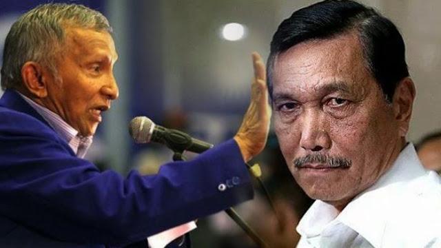 Ancam Buka Dosa Amien Rais, Sikap Menteri Luhut Disayangkan
