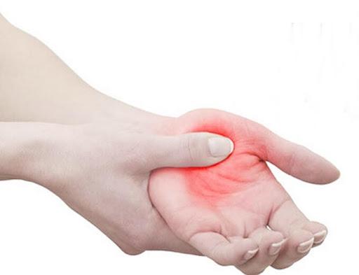 massagens nas mãos