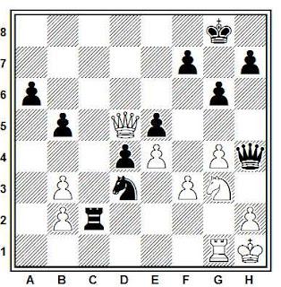 Problema ejercicio de ajedrez número 733: Delaney - Laizani (Groninga, 1981)