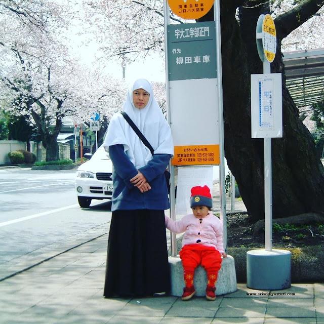 Naik bis di Jepang