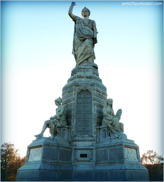 National Monument to the Forefathers, Plymouth