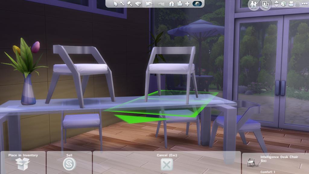 สูตรเคลื่อนย้ายวัตถุ The Sims 4