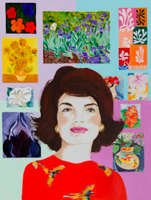 Jackie Kennedy, Ashley Longshore, Pop art