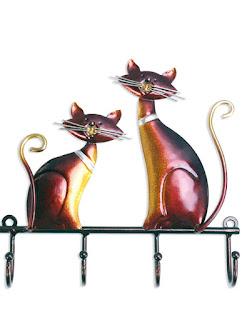 Home Decor - Cat Key Holder