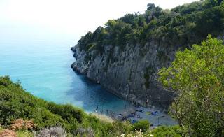 Zante o Zakynthos, playa Xygia o Xigia.