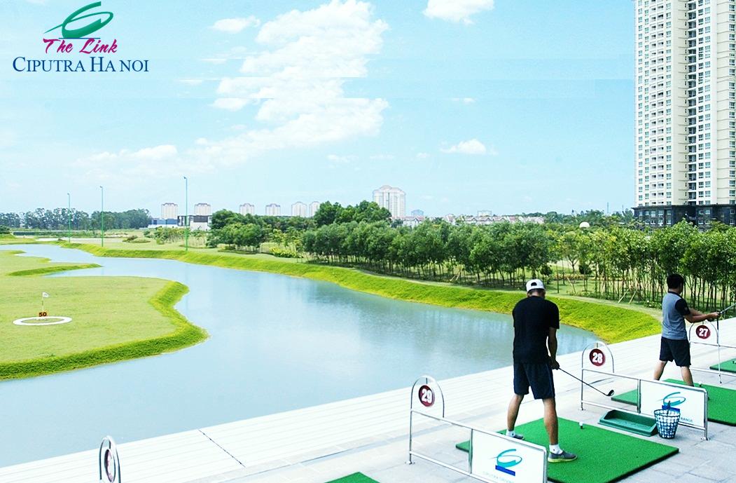 Sân Golf chung cư Ciputra