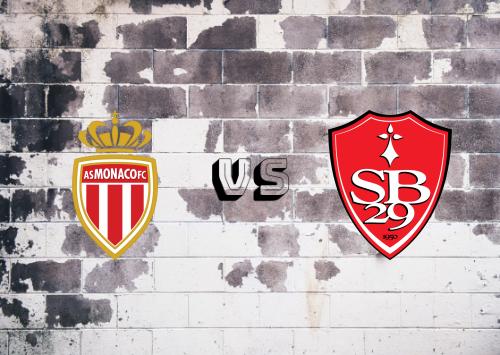AS Monaco vs Brest  Resumen
