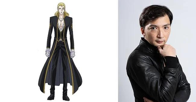 Oki Sugiyama como Karias Blerster, jefe de la familia Blerster
