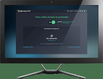 تحميل أحدث برنامج فتح الموقع المحظور AVG Secure VPN 2020