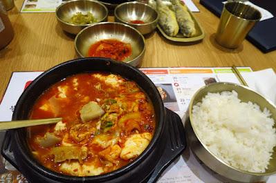 SBCD Korean Tofu House, sundubu jigae