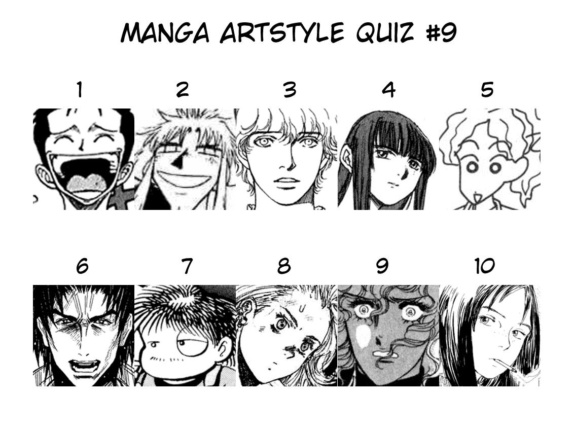 Hox Scanlations Manga Quiz