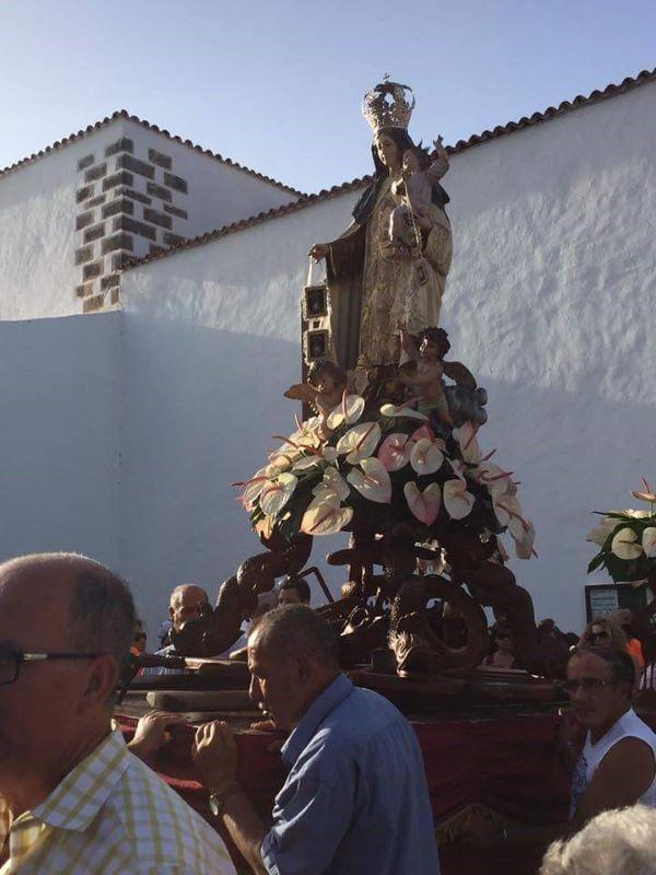 Fuerteventura.- La Procesión del Carmen en Puerto del Rosario, el  domingo, 21 de julio
