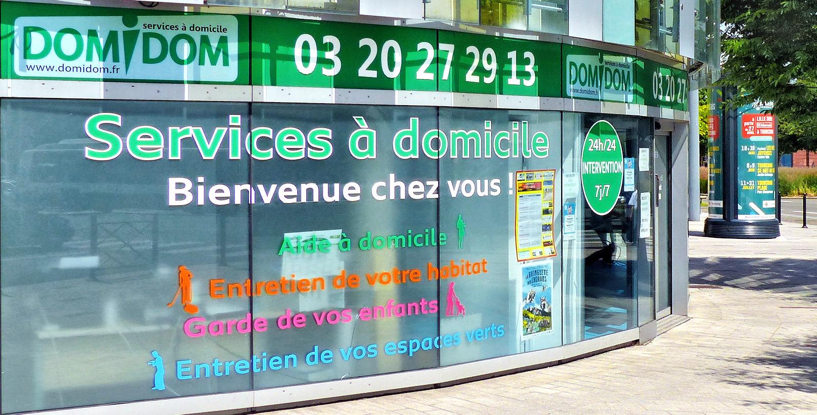Domidom Service à domicile - Tourcoing Centre, rue d'Havré