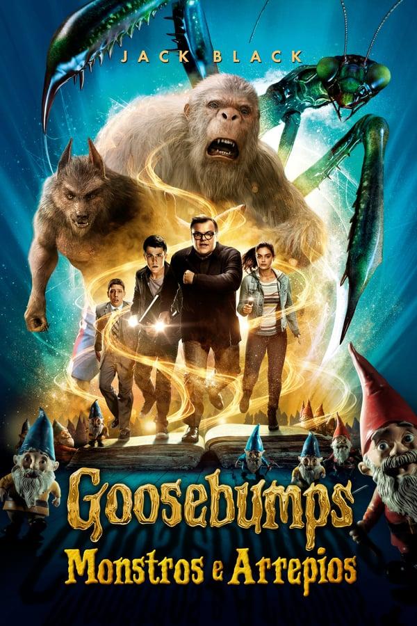 Baixar Goosebumps: Monstros e Arrepios (2015) Dublado