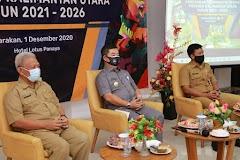 Pjs Gubernur Buka Forum Konsultasi Publik Rantek RPJMD Provinsi Kaltara 2021-2026