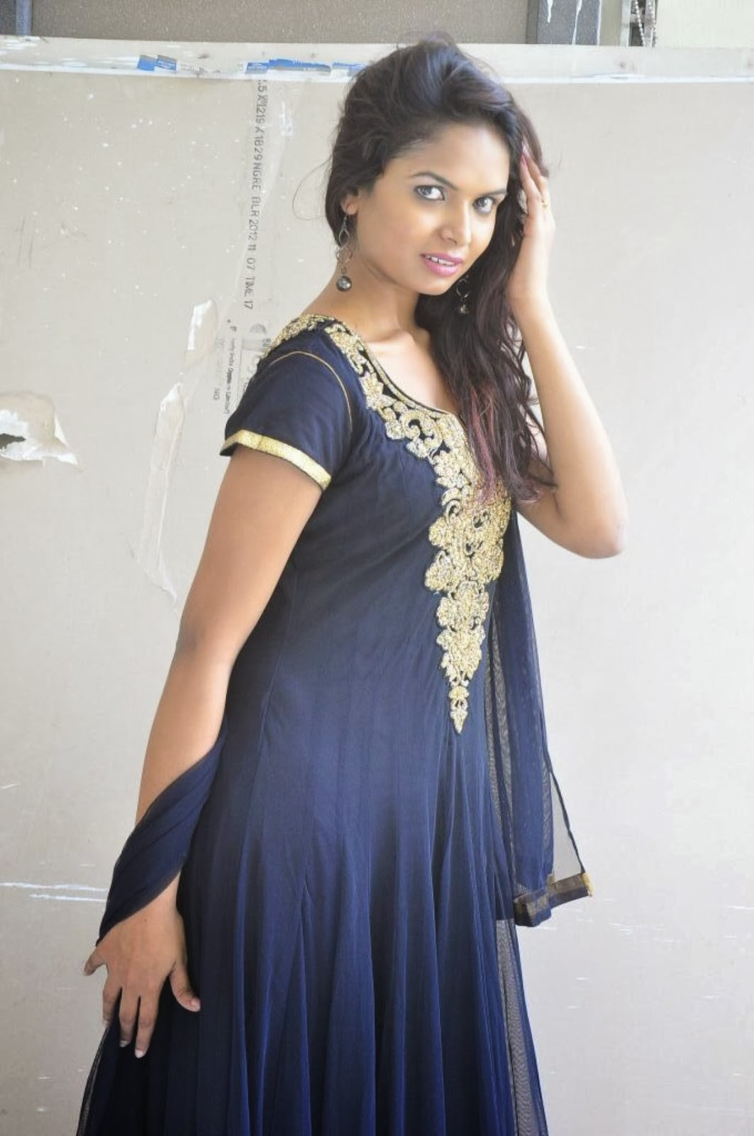Aasha photos in salwar kameez at freedom from corruption movie press meet