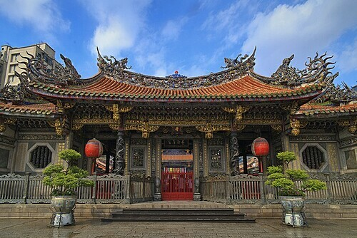 The most beautiful temples in Taipei