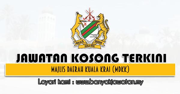 Jawatan Kosong 2021 di Majlis Daerah Kuala Krai (MDKK)