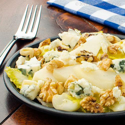 Belgian Endive and Walnut Salad