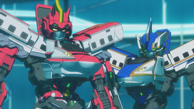 Trailer per Shinkansen Henkei Robo Shinkalion the Animation